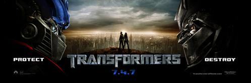 Banner de Transformers
